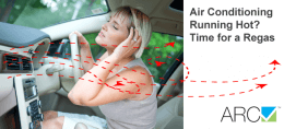 Lady enjoying cold car air conditioner